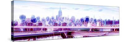 Manhattan Shine - Overview-Philippe Hugonnard-Stretched Canvas Print