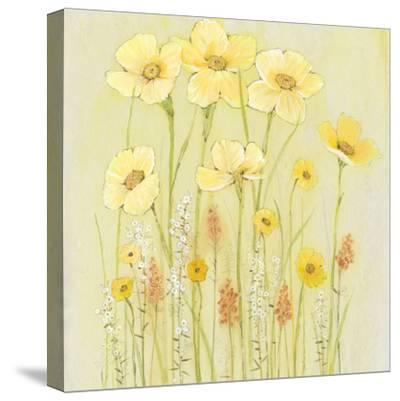 Soft Spring Floral I-Tim OToole-Stretched Canvas Print