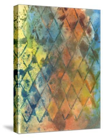 Spring Lattice I-Joyce Combs-Stretched Canvas Print