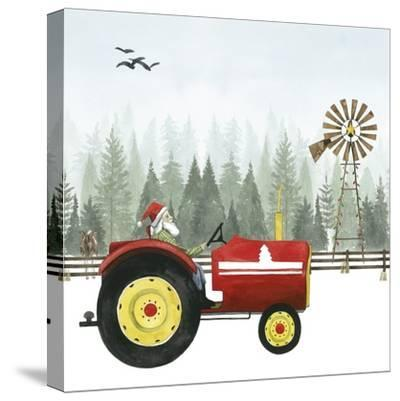 Country Santa II-Grace Popp-Stretched Canvas Print