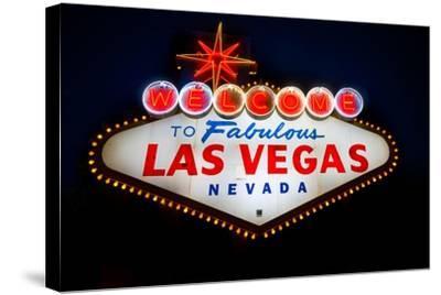 Fabulous Las Vegas Sign-Steve Gadomski-Stretched Canvas Print