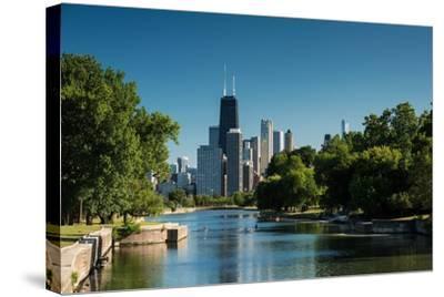 Lincoln Park Chicago-Steve Gadomski-Stretched Canvas Print