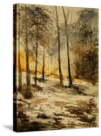 Watercolor 191106-Pol Ledent-Stretched Canvas Print