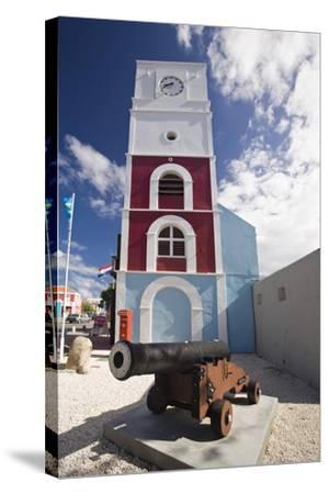 Willem III Tower Oranjestad Aruba-George Oze-Stretched Canvas Print