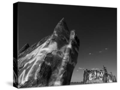 Cadillac Ranch 2-John Gusky-Stretched Canvas Print