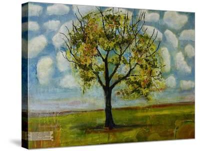 Botanical Print Patterned Sky Tree-Blenda Tyvoll-Stretched Canvas Print