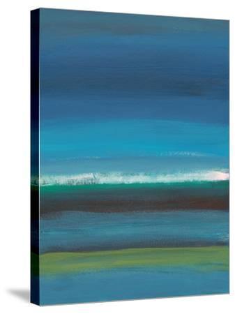 Night Coast-Jan Weiss-Stretched Canvas Print