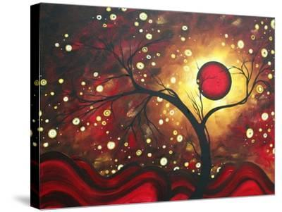 Abstract Landscape Glowing Orb-Megan Aroon Duncanson-Stretched Canvas Print
