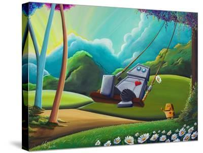 The Swing-Cindy Thornton-Stretched Canvas Print