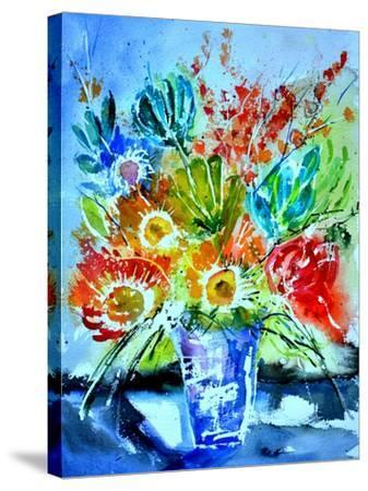 Watercolor 512012-Pol Ledent-Stretched Canvas Print