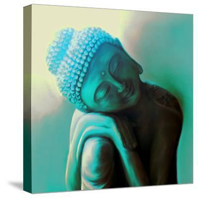 Tranquillity-Christine Ganz-Stretched Canvas Print