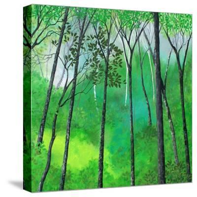 Sherwood II-Herb Dickinson-Stretched Canvas Print