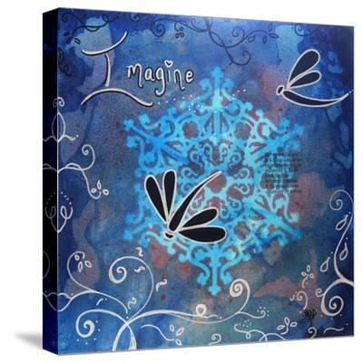 Imagine-Megan Aroon Duncanson-Stretched Canvas Print