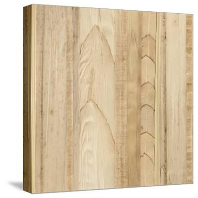 Wood Background I-Wild Apple Portfolio-Stretched Canvas Print
