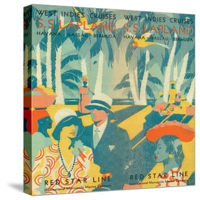 Vintage Travel Brochure VI-Wild Apple Portfolio-Stretched Canvas Print