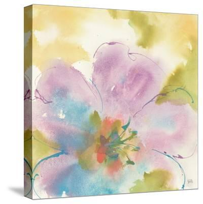Flower Tints II-Chris Paschke-Stretched Canvas Print