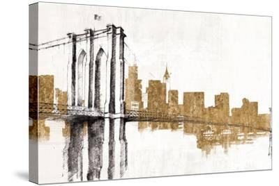Skyline Crossing Gold-Avery Tillmon-Stretched Canvas Print