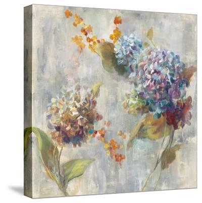 Autumn Hydrangea II-Danhui Nai-Stretched Canvas Print