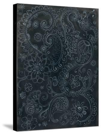 Paisley Swirl-Danhui Nai-Stretched Canvas Print