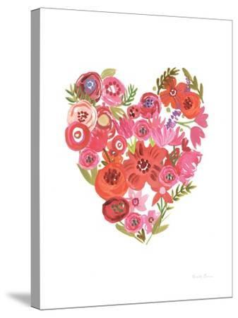 Valentine Chic II no Words-Farida Zaman-Stretched Canvas Print