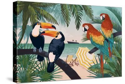 Welcome to Paradise VI-Janelle Penner-Stretched Canvas Print