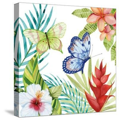 Treasures of the Tropics VI-Kathleen Parr McKenna-Stretched Canvas Print