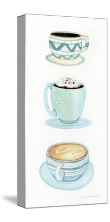 Coffee Break Element VI-Kathleen Parr McKenna-Stretched Canvas Print