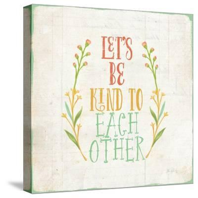 Be Kind I-Katie Pertiet-Stretched Canvas Print