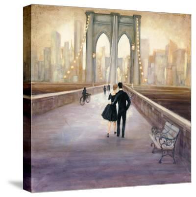 Bridge to NY-Julia Purinton-Stretched Canvas Print