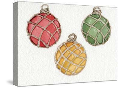 Coastal Holiday Ornament VIII-Kathleen Parr McKenna-Stretched Canvas Print