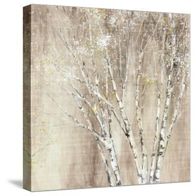 Blue Birch Neutral-Julia Purinton-Stretched Canvas Print