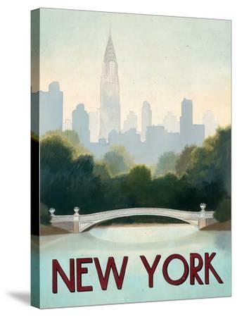 City Skyline New York-Marco Fabiano-Stretched Canvas Print