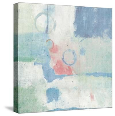 Horizon Cool Chromatic-Mike Schick-Stretched Canvas Print