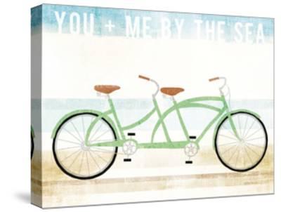 Beach Cruiser Tandem v2-Michael Mullan-Stretched Canvas Print