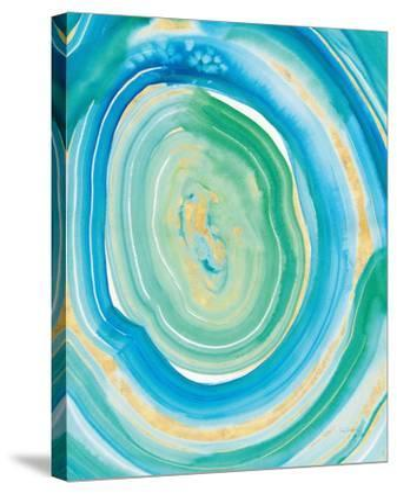 Terrain Gilded II Crop Center.-Sue Schlabach-Stretched Canvas Print