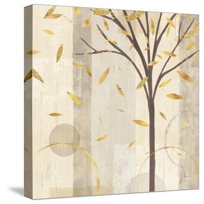 Watercolor Forest Gold III-Veronique Charron-Stretched Canvas Print
