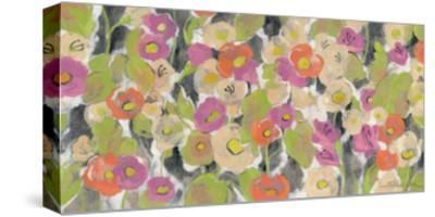 Velvety Florals-Silvia Vassileva-Stretched Canvas Print