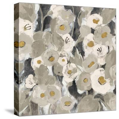 Velvety Florals Neutral II-Silvia Vassileva-Stretched Canvas Print