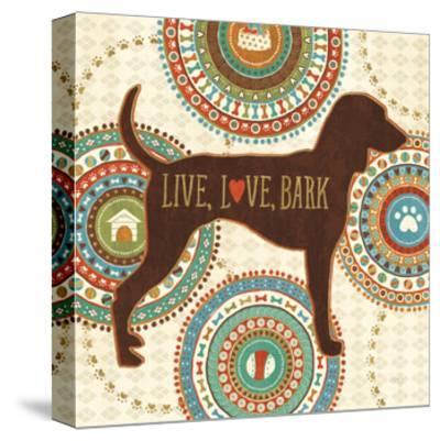 Dogs Life IV-Veronique Charron-Stretched Canvas Print