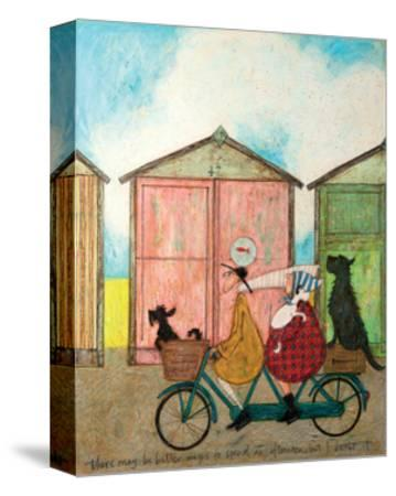There may be Better Ways to Spend an Afternoon-Sam Toft-Stretched Canvas Print