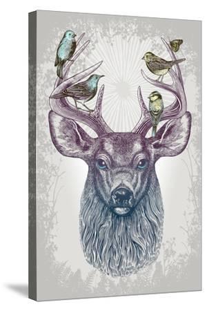 Magic Buck-Rachel Caldwell-Stretched Canvas Print