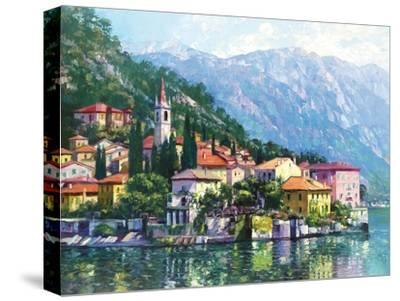 Reflections of Lake Como-Howard Behrens-Stretched Canvas Print