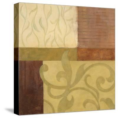 Garden Terrace I-Glenys Porter-Stretched Canvas Print
