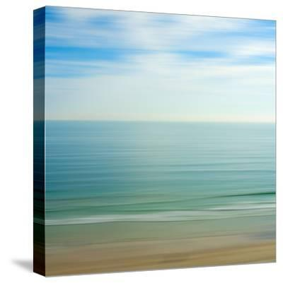 Seacoast 17-David E Rowell-Stretched Canvas Print