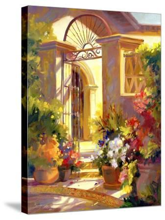 Fragrant Entrance-Betty Carr-Stretched Canvas Print