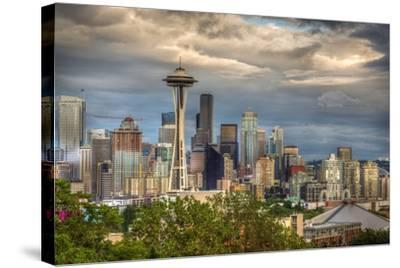 Seattle-Larry J^ Taite-Stretched Canvas Print