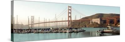 Golden Gate Bridge #33-Alan Blaustein-Stretched Canvas Print