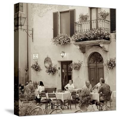 Tuscany Caffe #25-Alan Blaustein-Stretched Canvas Print