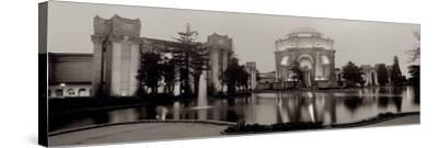 Palace Of Fine Arts Pano #4-Alan Blaustein-Stretched Canvas Print