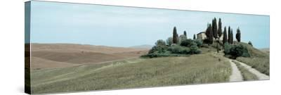 Val d'Orcia Pano #4-Alan Blaustein-Stretched Canvas Print